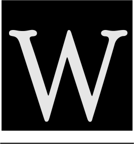 w-letter