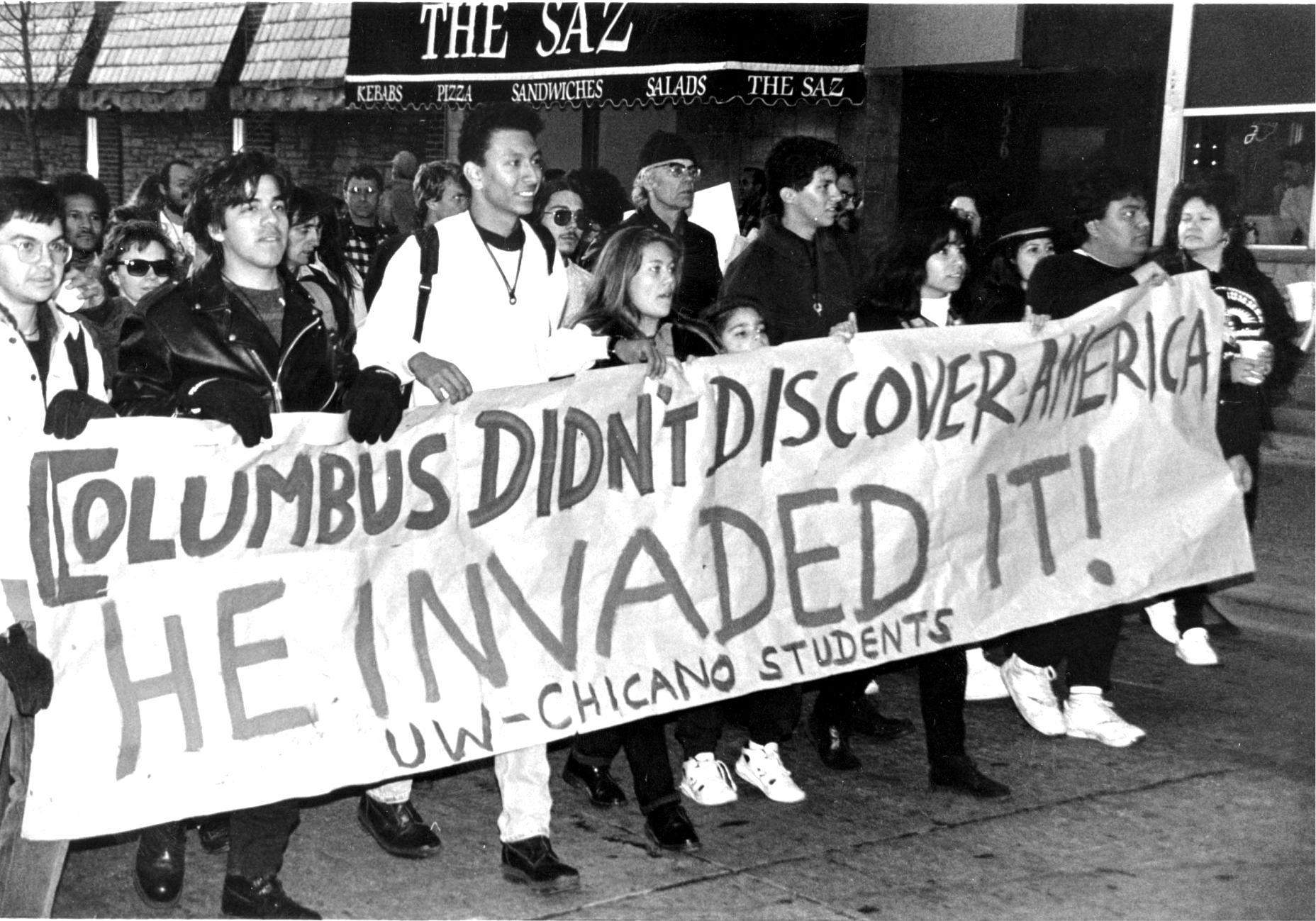 different opinions on columbus In my opinion christopher columbus was a cruel opinions on christopher columbus first east), columbus acted no different from the aztec.