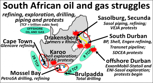ZCommunications » Fighting fossil fuels in South Africa