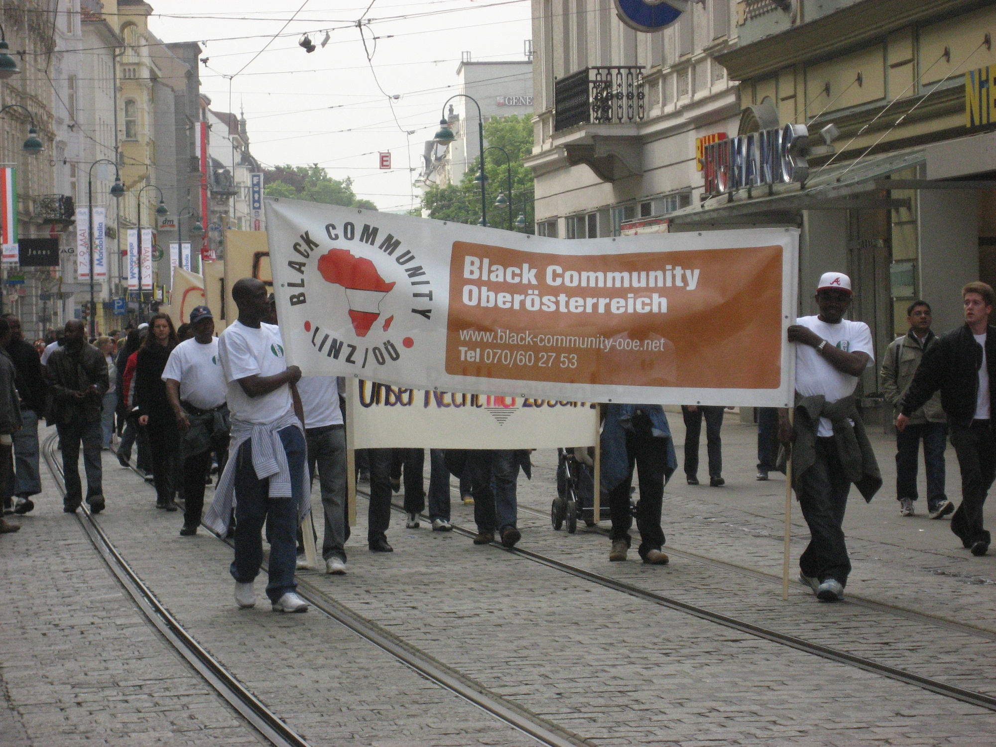 The Black Community in Linz