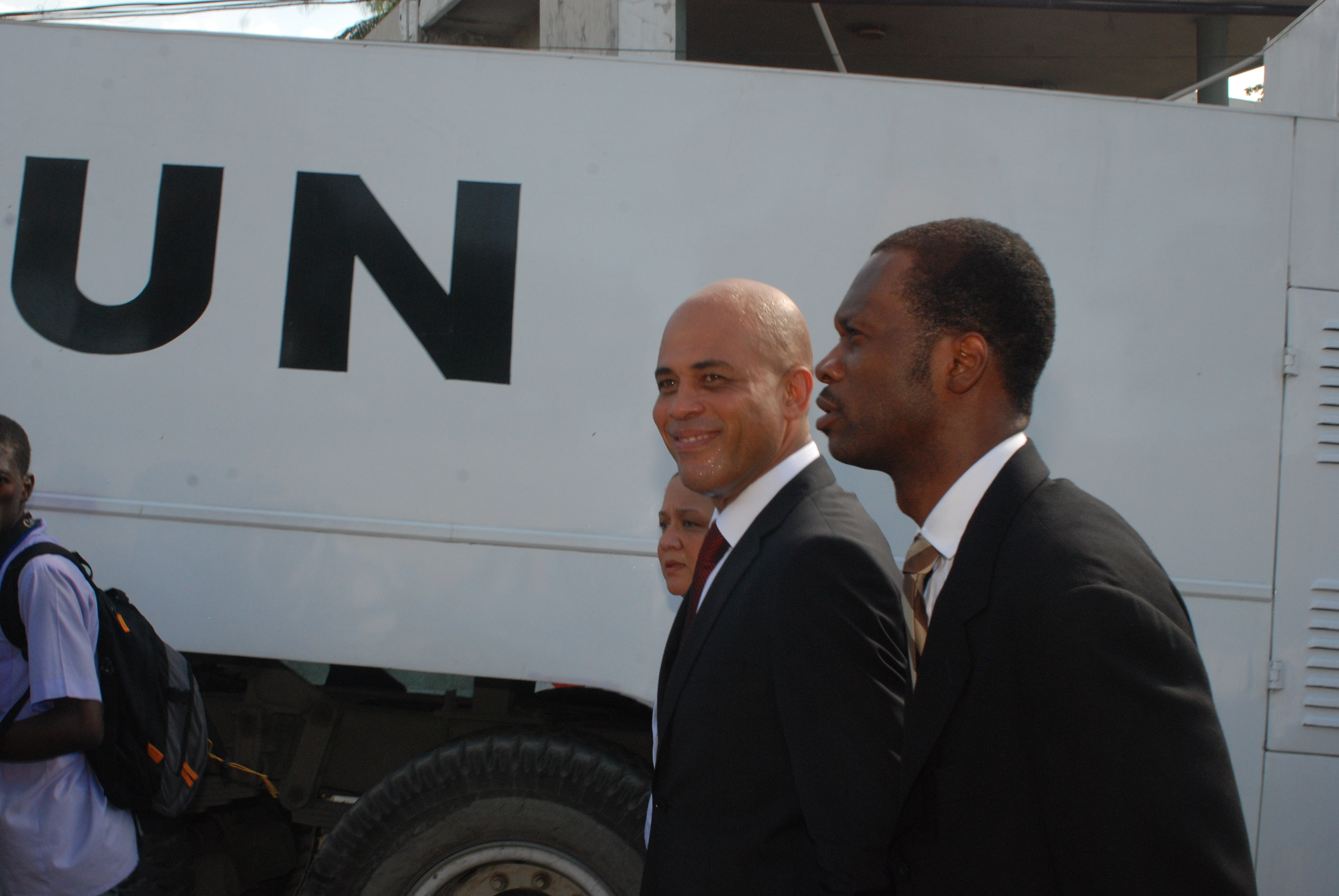 Martelly - photo by Wadner Pierre