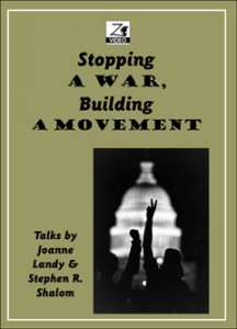 Stopping a War, Building a Movement